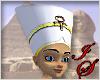 White Egyptian Headdress