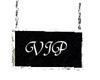 Diamond Framed VIP Sign