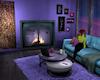 Room Rustic Hangout Neon