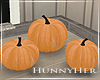 H. Fall Pumpkin Decor