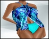 Tropical Teal Swimwear