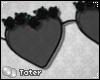 T: PVCRose ShadesBlack M