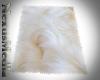 Luxury white Fur Rug