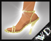 WD* Plume Wedding Shoes