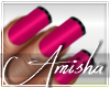 AMI|Adelle Pink Nails