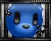 .:D Bear Noggin Blue