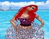 Ariel Mermaid Top Purple