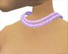 collar lila purple diamo