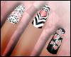 ® Mono Valentine Nails