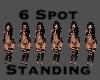 6 Spot Standing Line