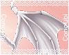 Demon Hip Wings  White