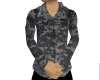 Gray Digital Camo Shirt