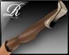 R™Stockings FF Noir/Tan