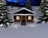 Mountain Snow Cabin