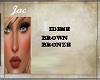 ~J ~IDESE BROWN BRONZE