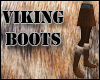 Fur Lined Viking Boots