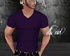 Vneck Tee Dark Purple