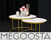 Chic Marble Top Table
