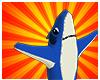 Mini Left Shark Static