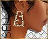 """§ """"F"""" Bomb Earrings"""