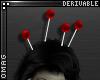 0 | Voodoo Head Pins