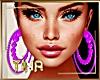 🌴Hawaii Purple Earrings