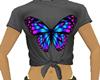 *C* grey w/butterfly