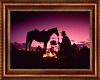 Red Sky Cowboy Art Paint