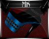 !Mk! Bat Boots Blue PF