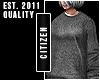 c   Baggy Sweater Grey