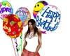 smiles Balloons Brithday
