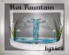 ~♪~ Koi Wed. Fountain