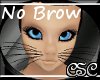 {CSC} No Brow Cat Head M