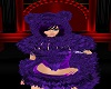 Chest Fur Purple