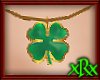 Clover Necklace Gold