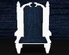 Blue White Chair