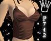 *P712 C.* Silk Brown Top