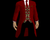 [W]ChristmasSuitLong Red
