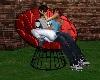 *TJ* Round Cuddle Chair