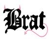 [FS] Brat Sign Pink