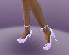 cool l purple heel shoes