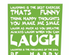 Sky's Laugh Poster