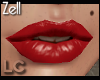 LC Zell Open Red Lips