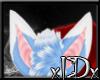 xIDx Blue Fox Ears