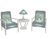 Lotus Spa Chair Set