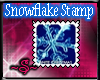 ~S~Snowflake Stamp