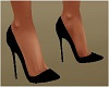 Black Lady Shoes Dainty