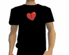 Broken Heart Baggy T