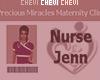 Nurse Jenn Custom Badge