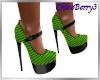 Paris Heels Green